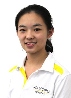 思德福学院 - Xue Hao Yue - 2011年9月进入标准英语课程-中级班,同年 12月第一次雅思考试,取得7分